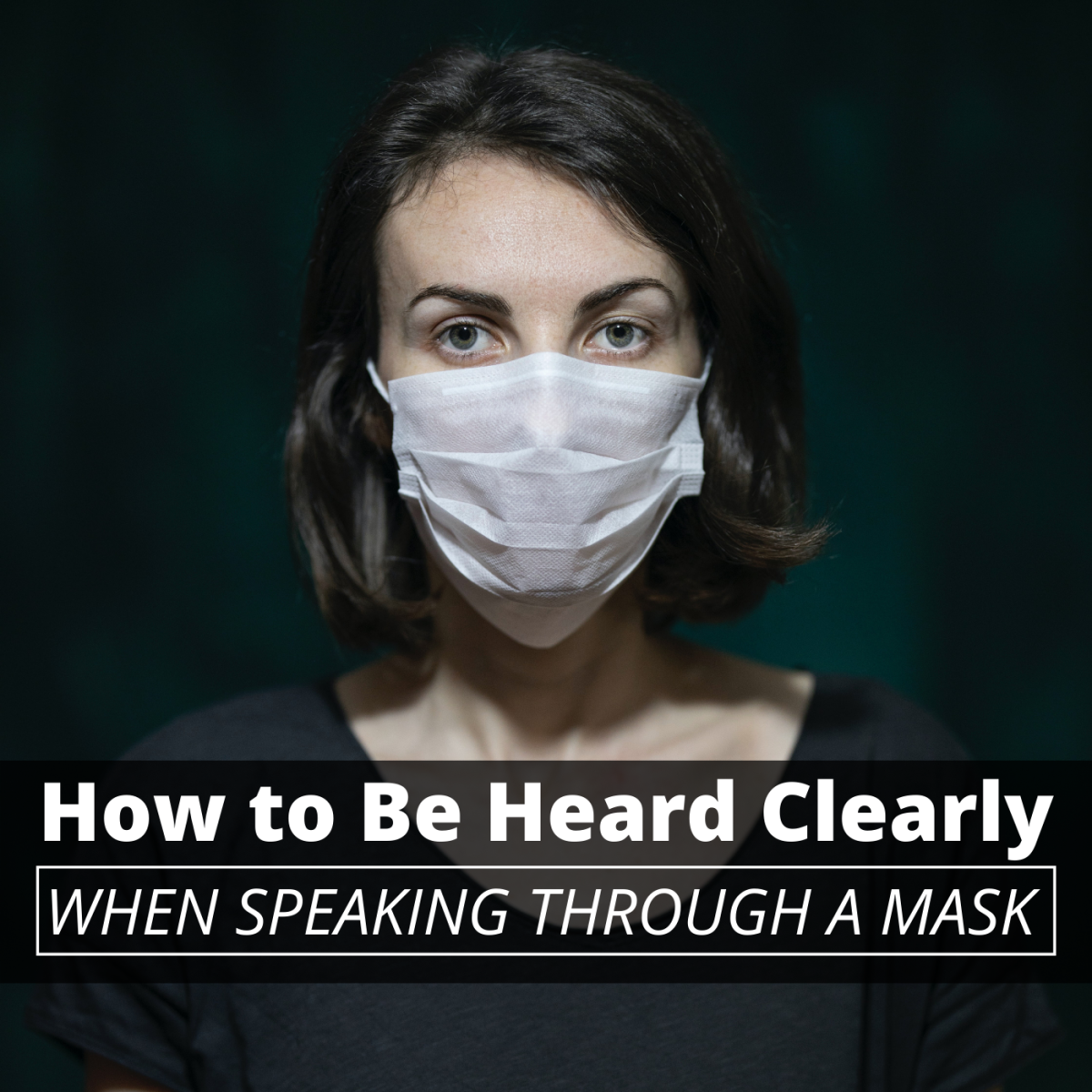 Facemasks are great for preventing the spread of disease, but they can also make communication more difficult.