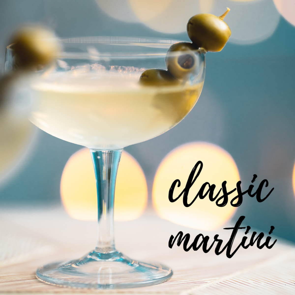 Shaken or stirred, the martini is a timeless classic.