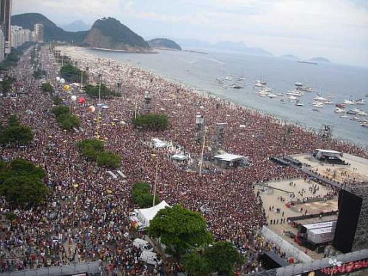 Over One Million People In Rio Came To See The Stones Live