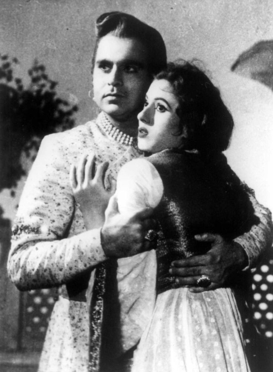 """She played the role of Anarkali with Actor Dilipkumar in Asif's """"Mughal-e-Azam""""."""