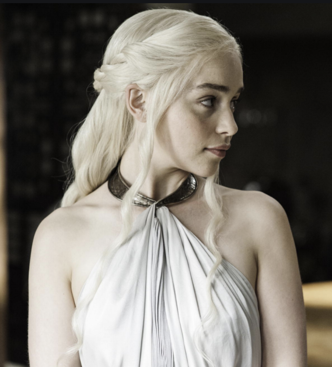 Emilia Clarke as Daenerys Targaryen, Game of Thrones Season 4