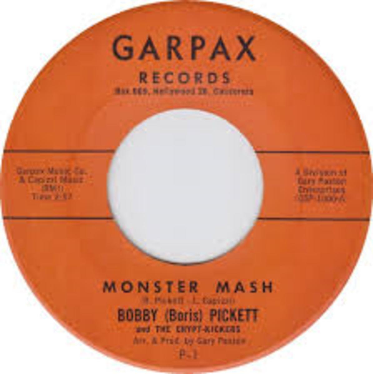 Monster Mash released in 1962.