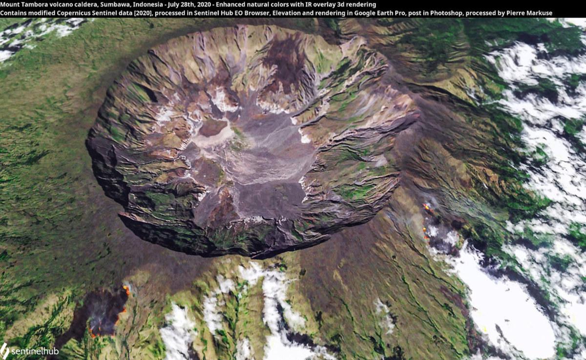 Mt. Tamora Crater