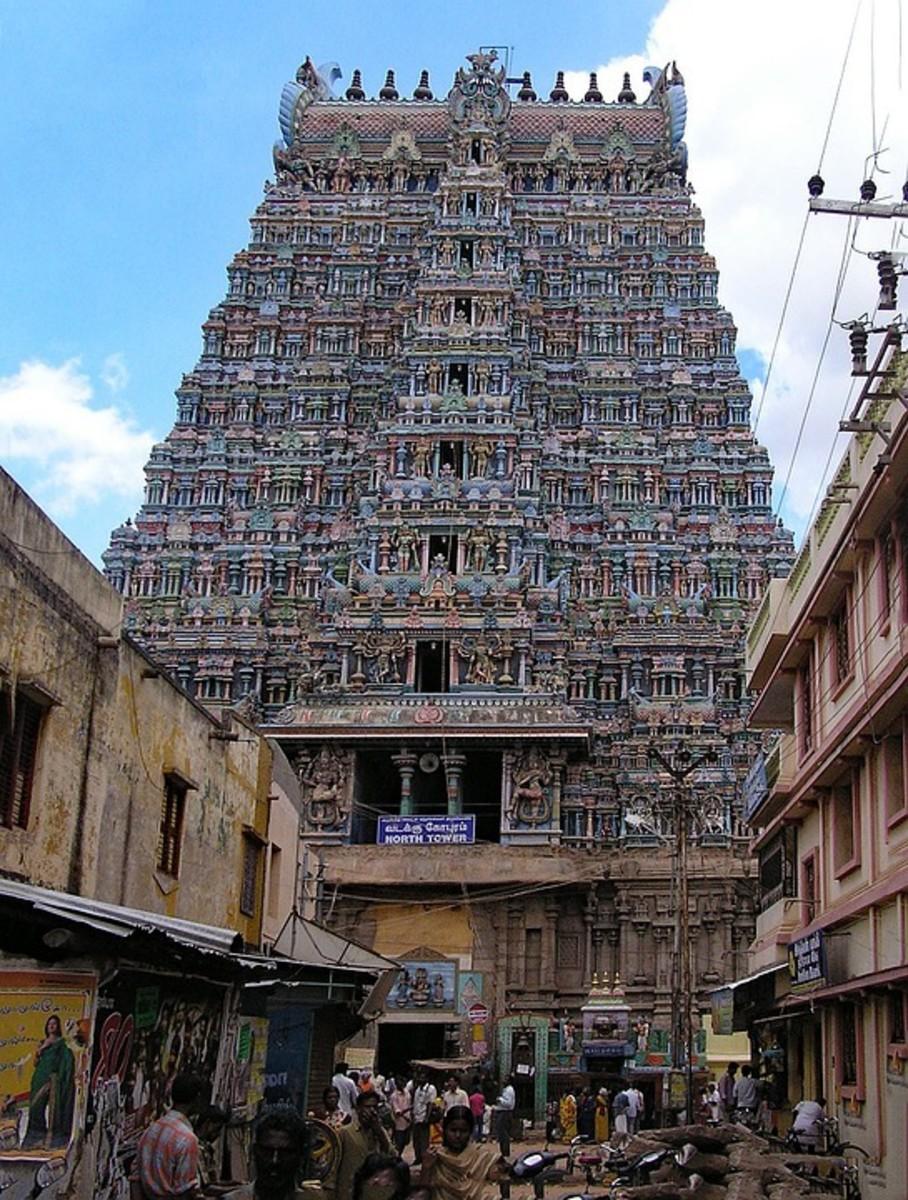 Madurai Meenkashi Temple in Madurai