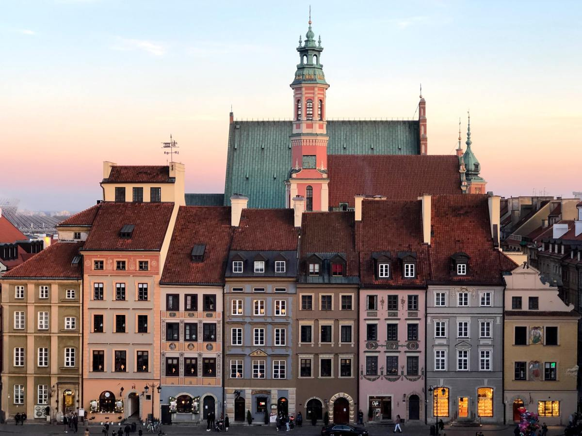 Poland Architecture | Poland Warsaw | Summer Holiday