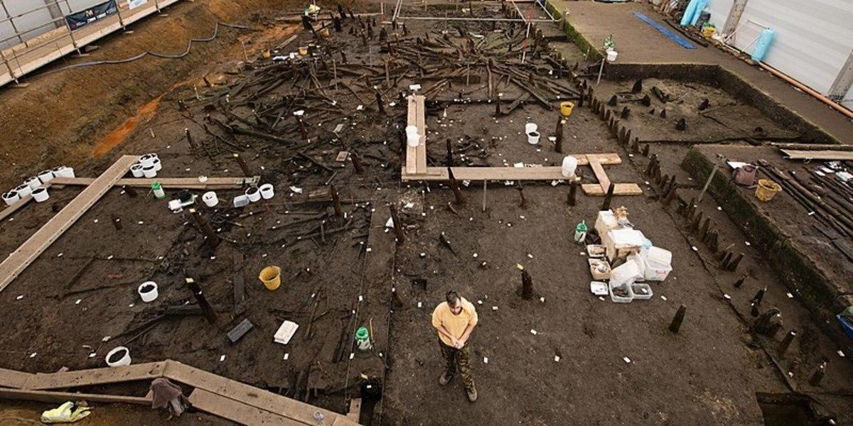 Excavation site at Must Farm.