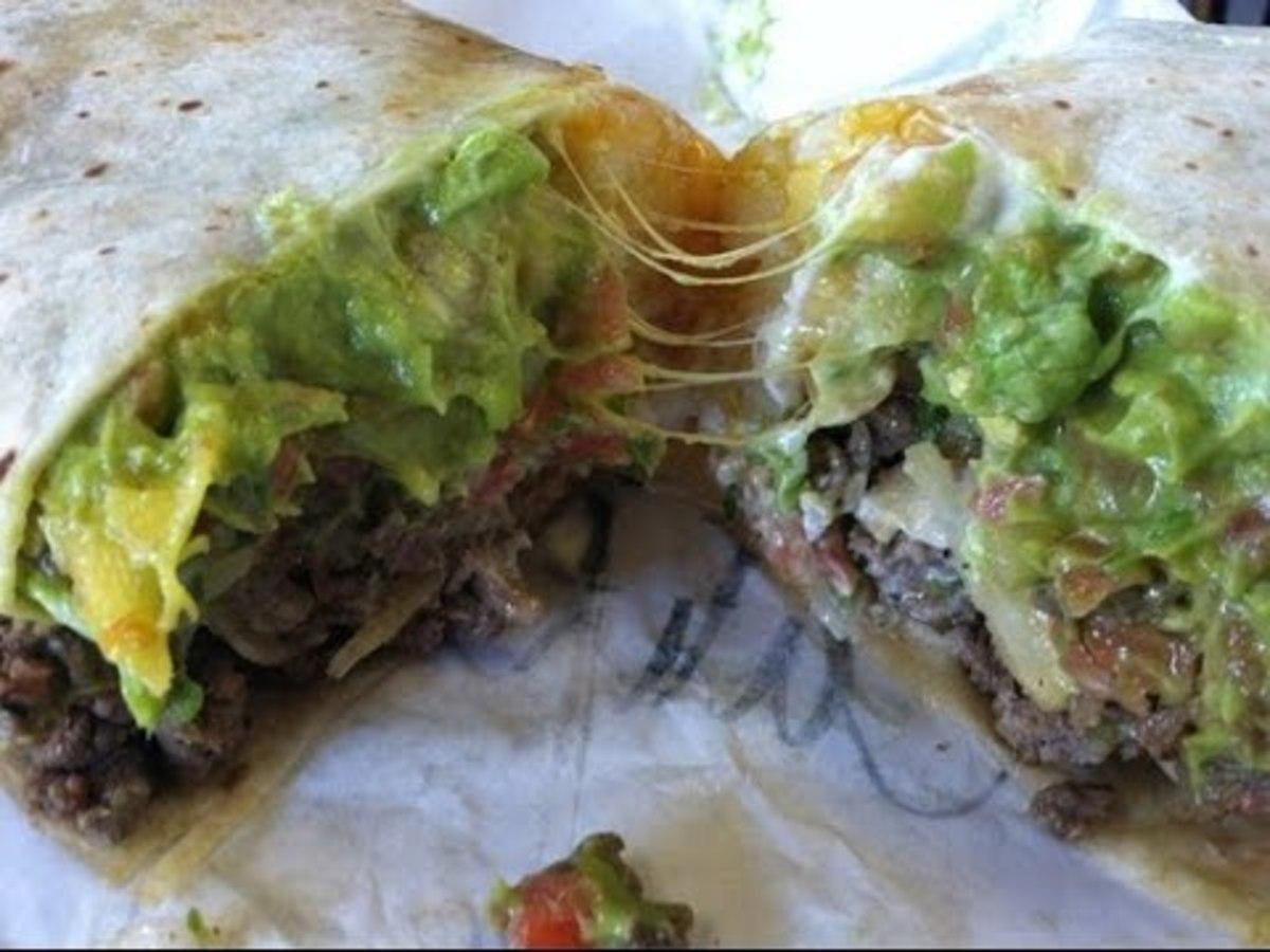 Incredible Hulk Burrito