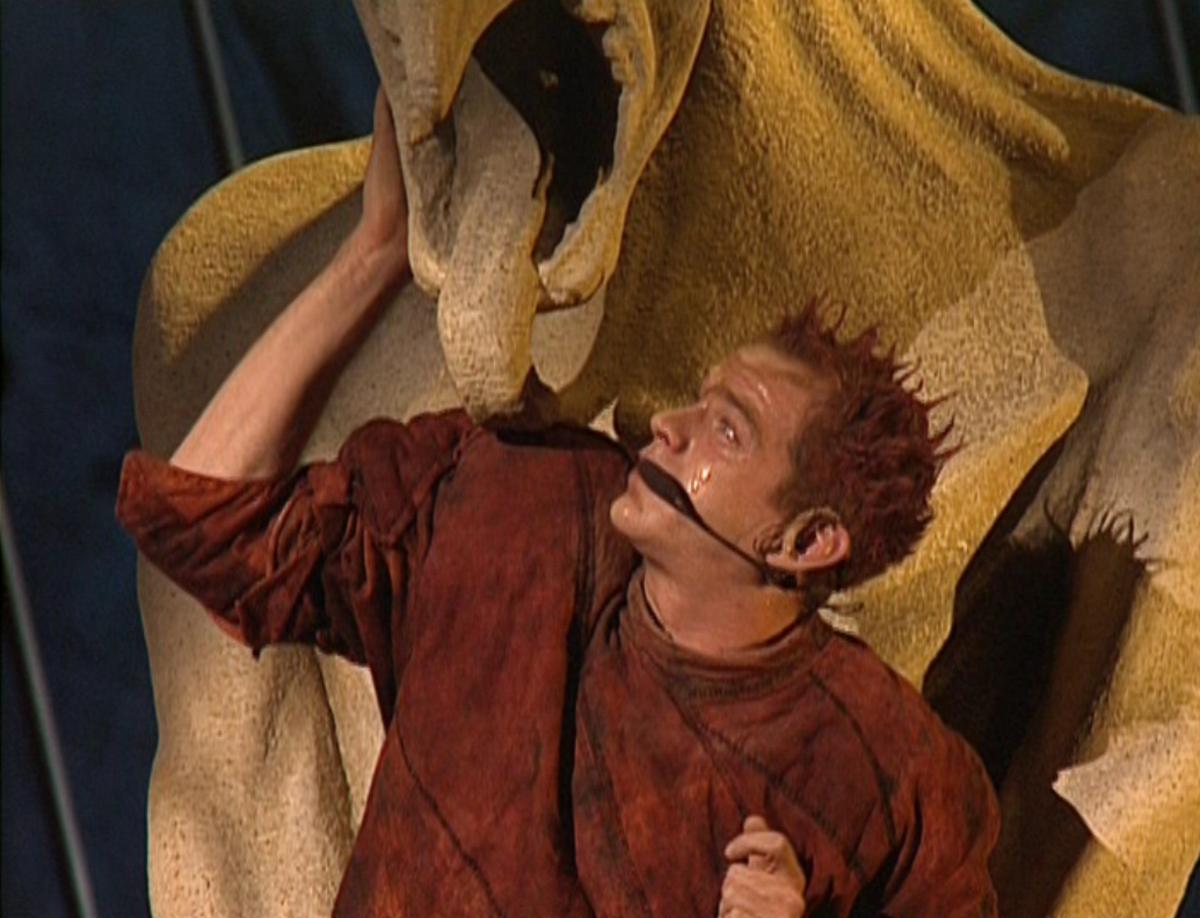 Garou as Quasimodo, Notre Dame de Paris Original Cast