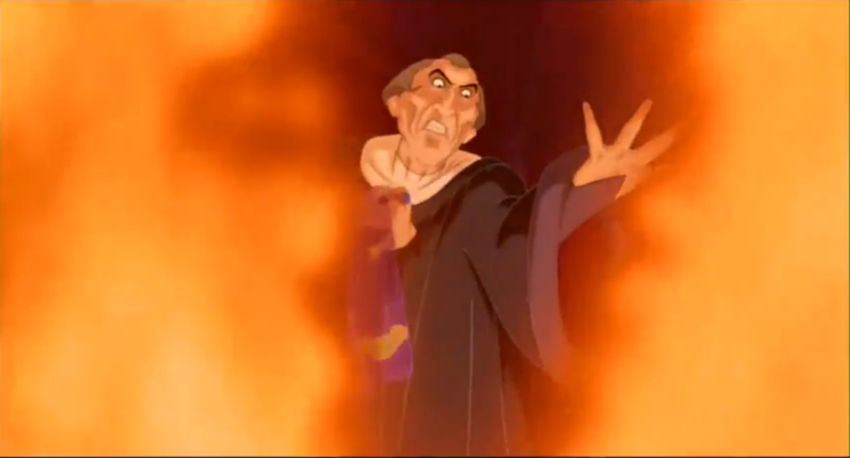 Frollo, Disney's The Hunchback of Notre Dame