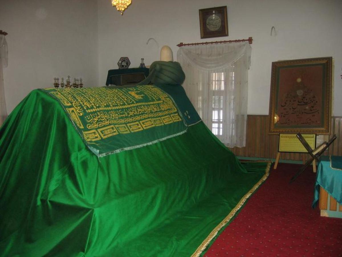 Tomb of Shams Tabrizi in Konya