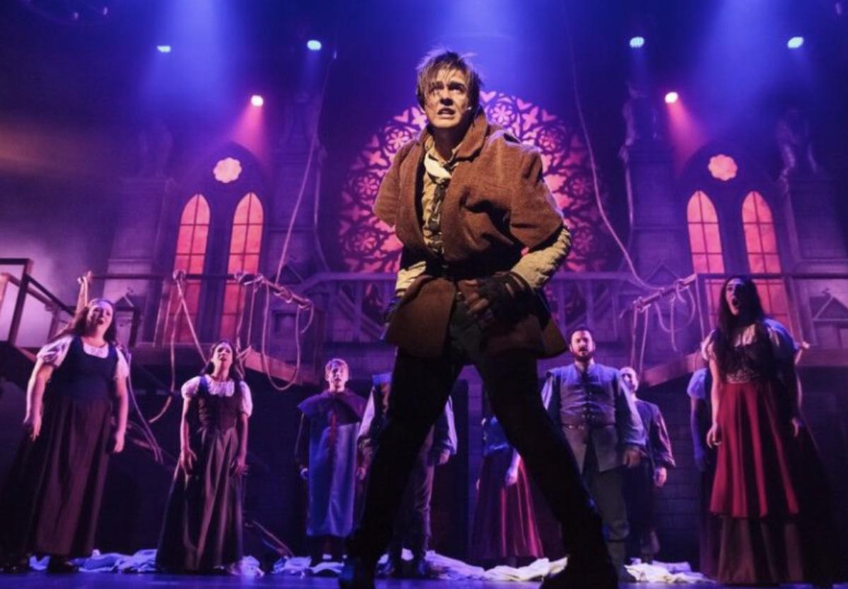 Bobby Cassell  as Quasimodo, Disney's The Hunchback of Notre Dame  Musical  2018