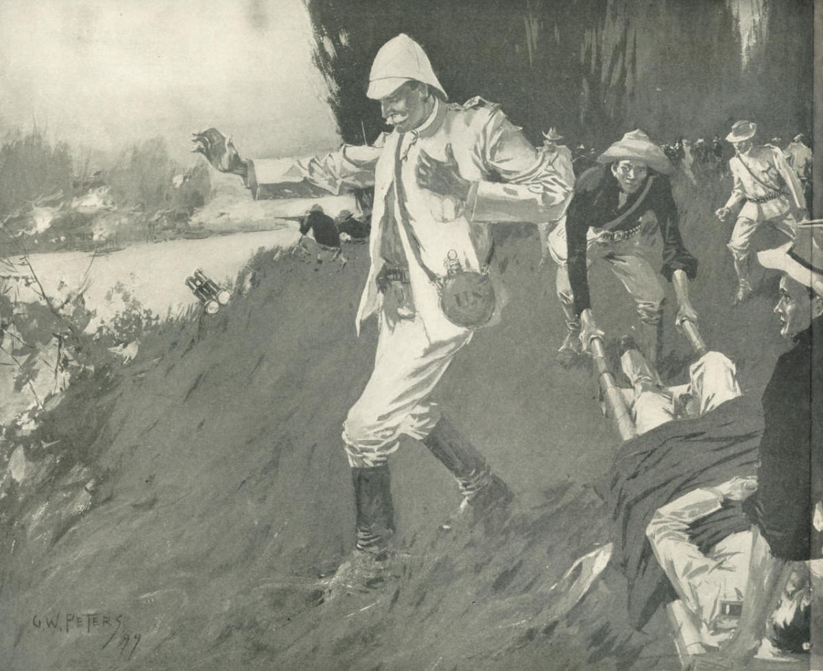 Death of Henry Ware Lawton