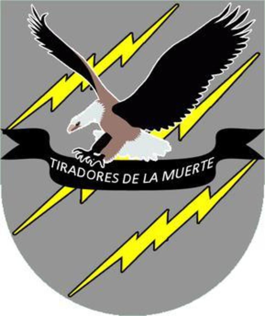 The insignia of the Light Reaction Regiment