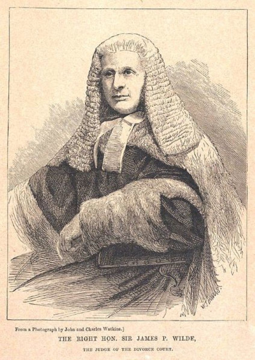 James Wilde, 1st Lord Penzance Presided Over the Mordaunt's Divorce Case in February 1870.