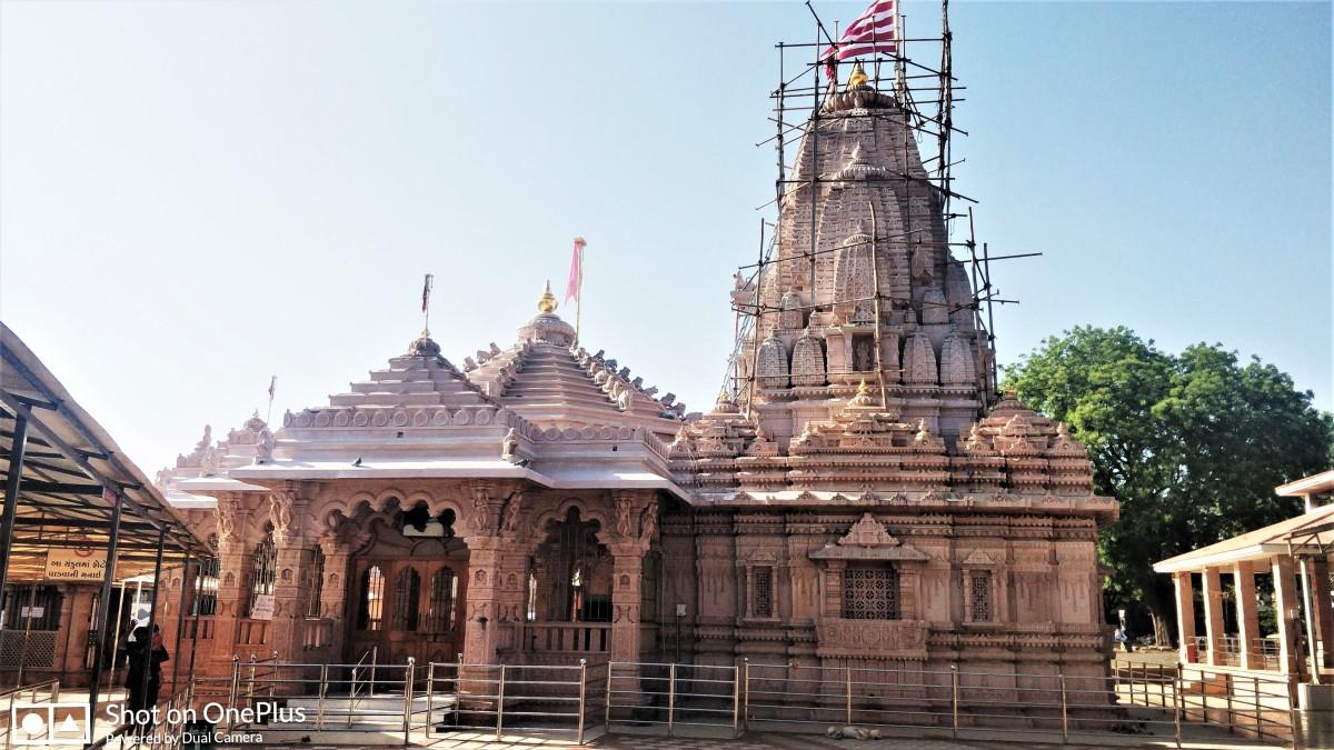 """The temple at """"Mata No Madh"""""""