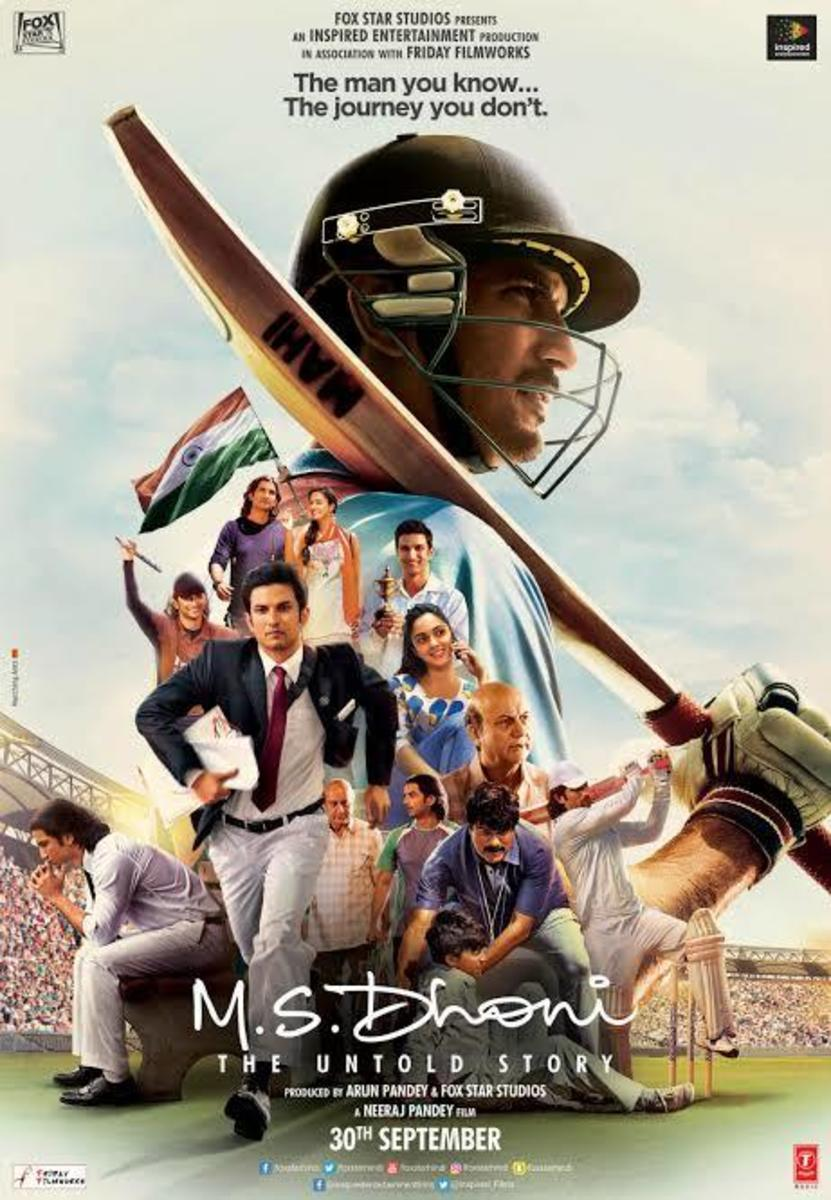 M S Dhoni—The Untold Story, Movie poster
