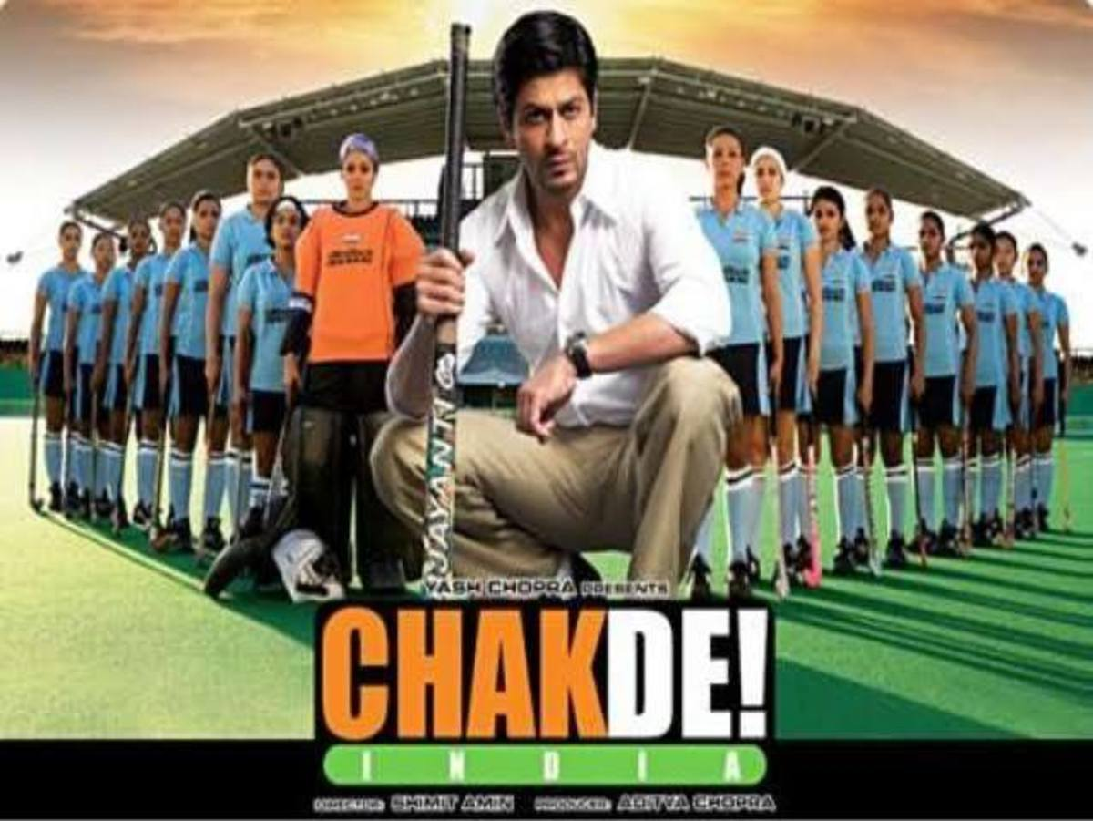 Chak De movie poster