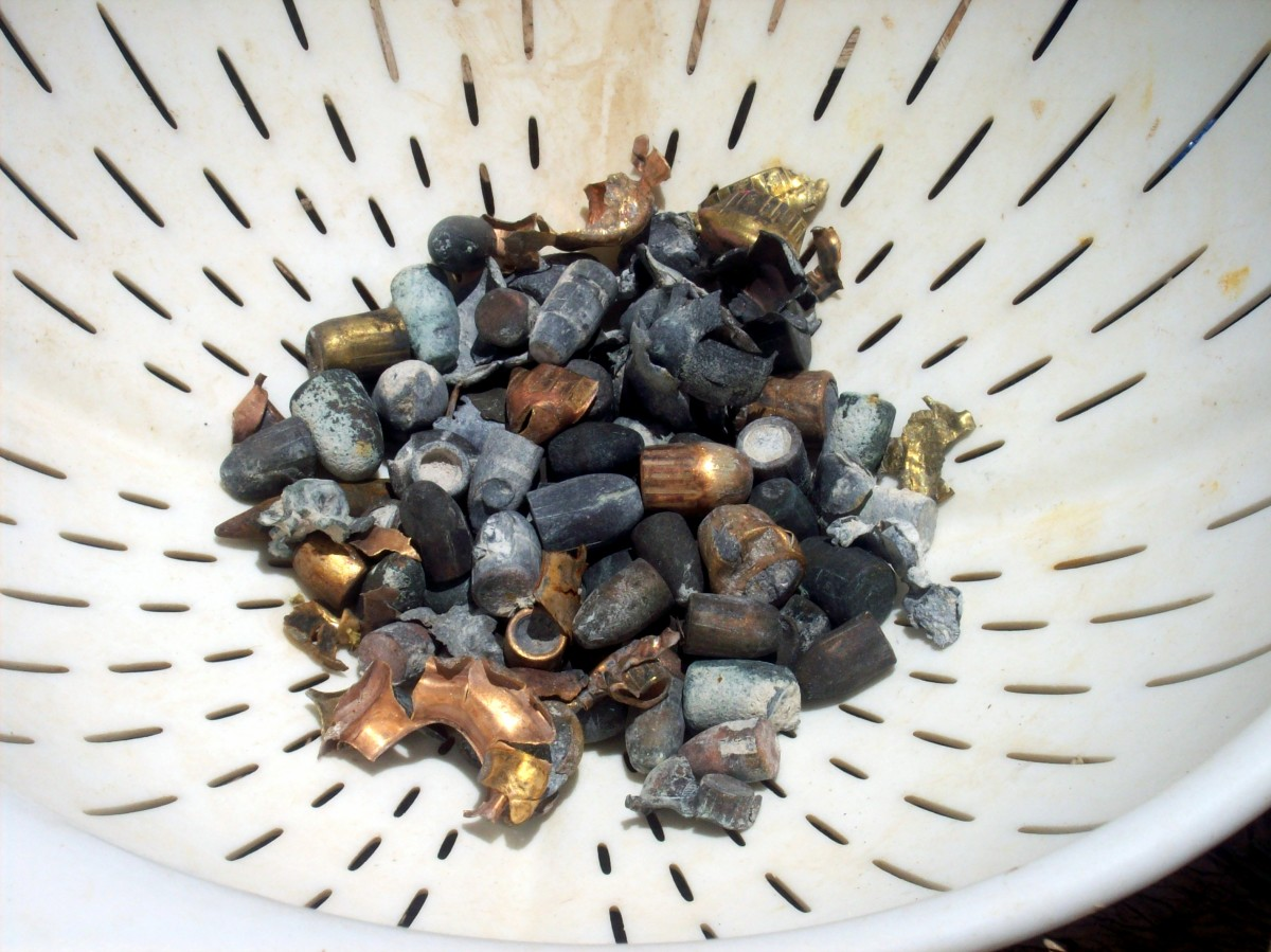If you collect brass and copper from shooting ranges, why not collect lead as well?