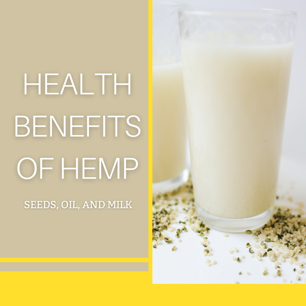Hemp seeds, milk, and oil are versatile and nutritious.