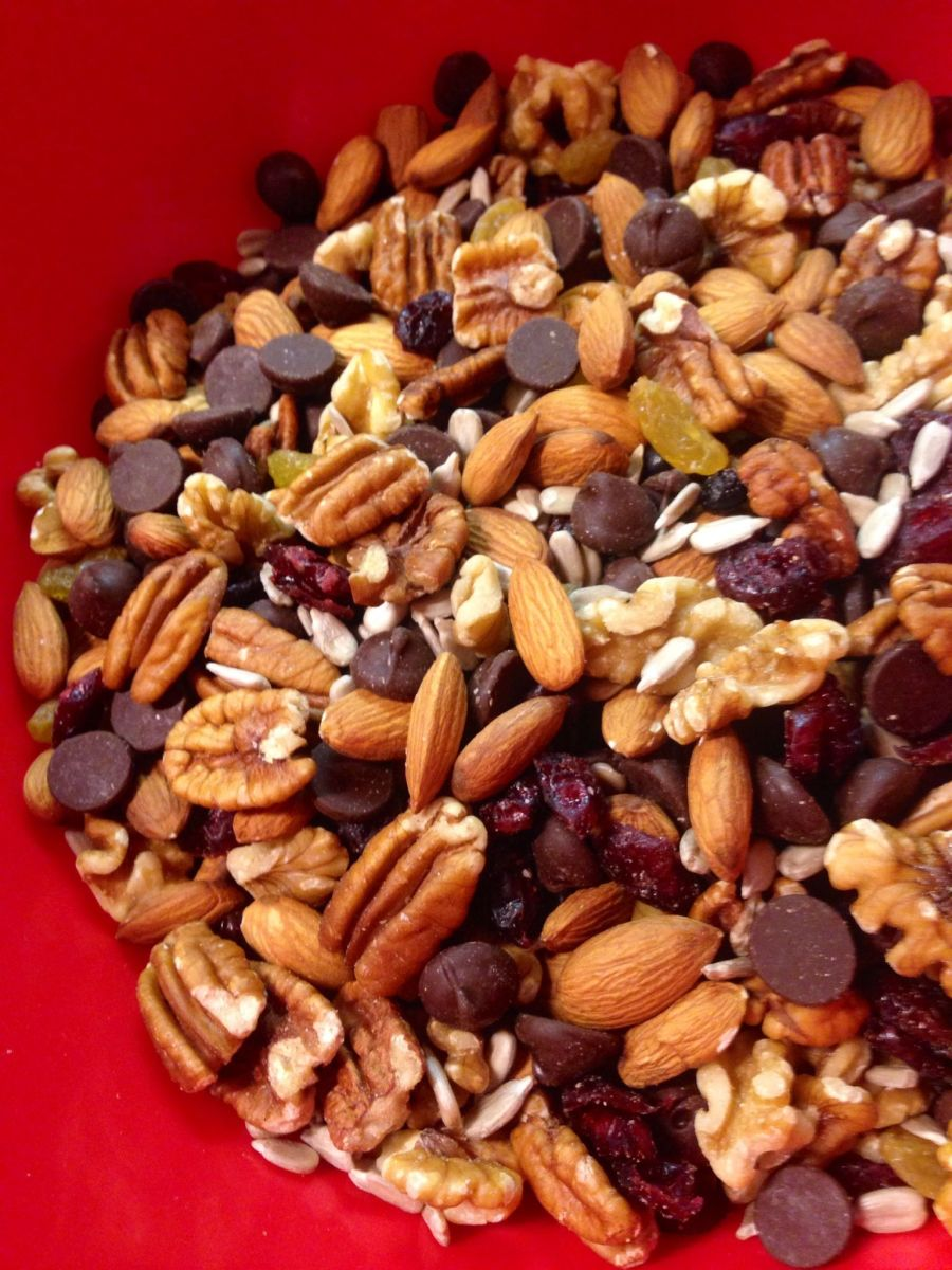 Nuts and seeds are rich in protein and fiber.