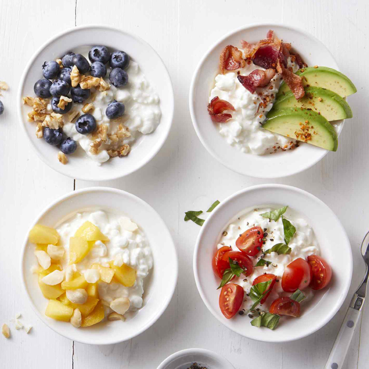 Cottage cheese is a calcium-rich food.