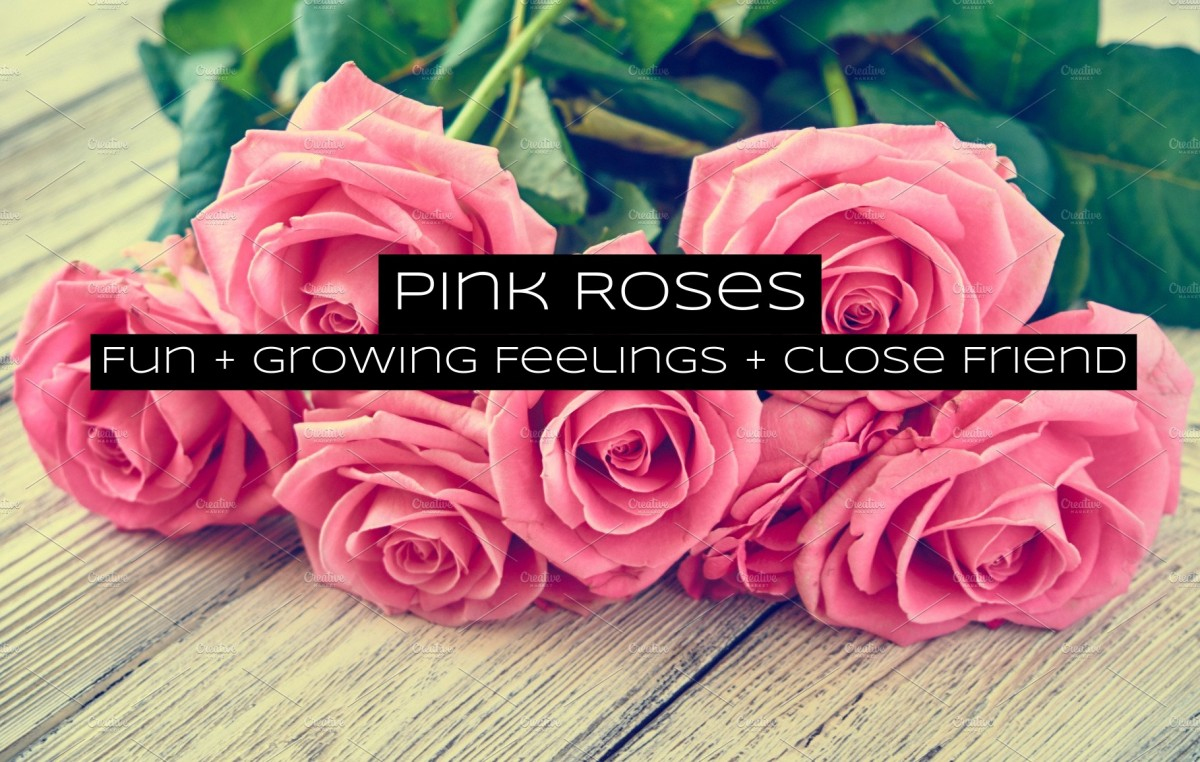 Pink roses are versatile in their message. Think prom, friends, Mother's Day, and Valentine's Day.