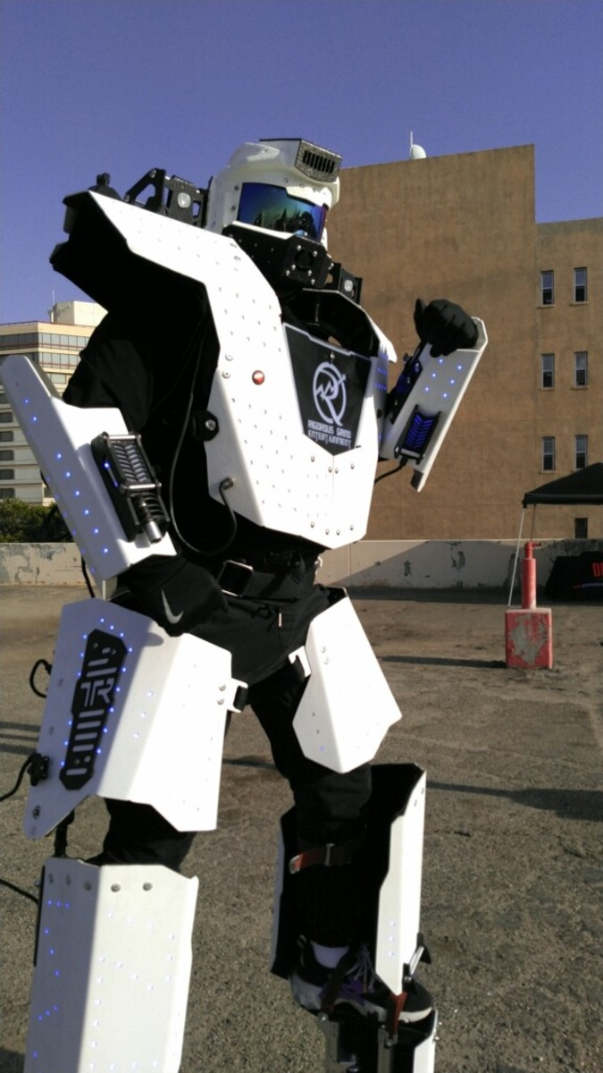 To the delight of those BMX event patrons was the BMX Decepticon stilt walker.