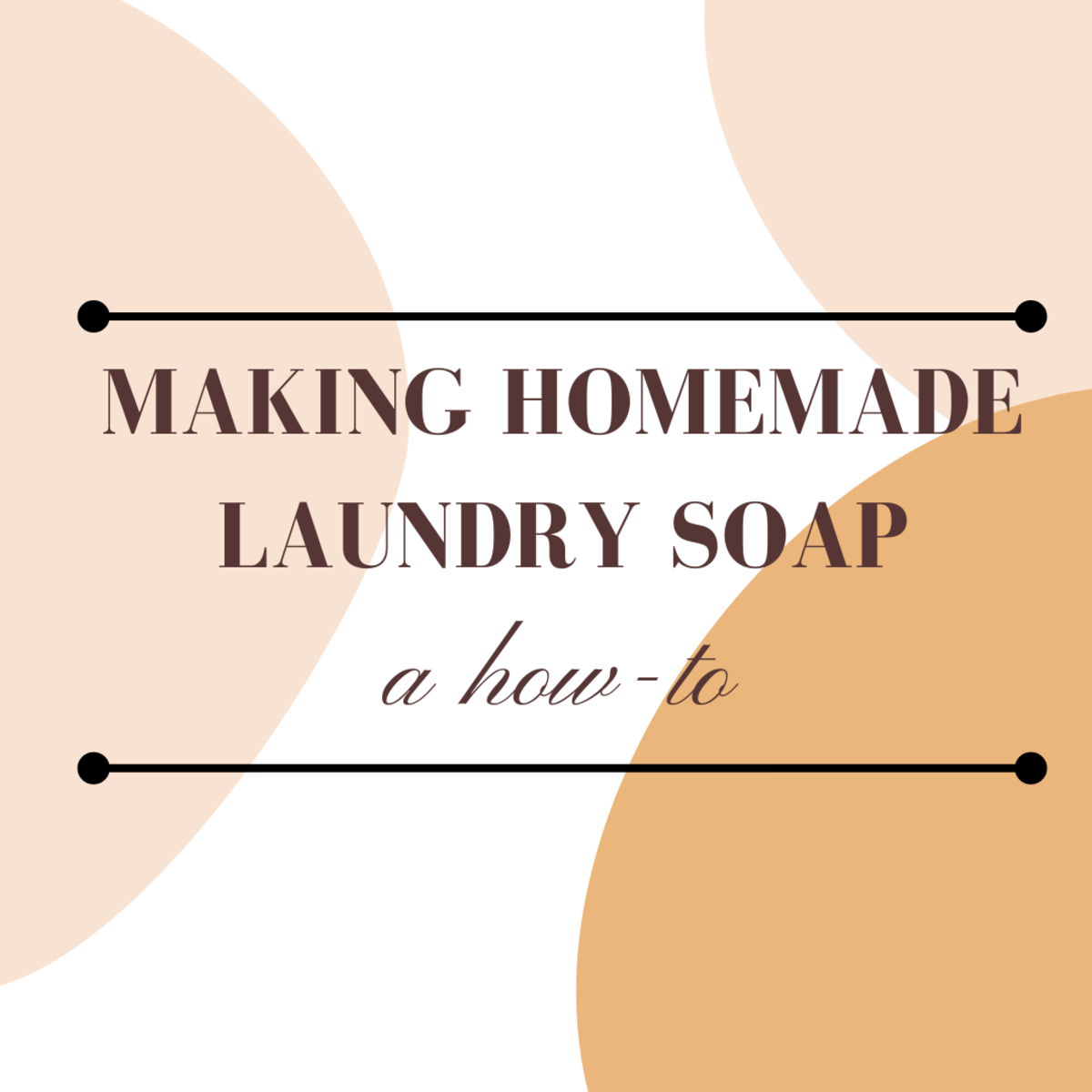 Making your own laundry soap is easy, fun, and can save you money!