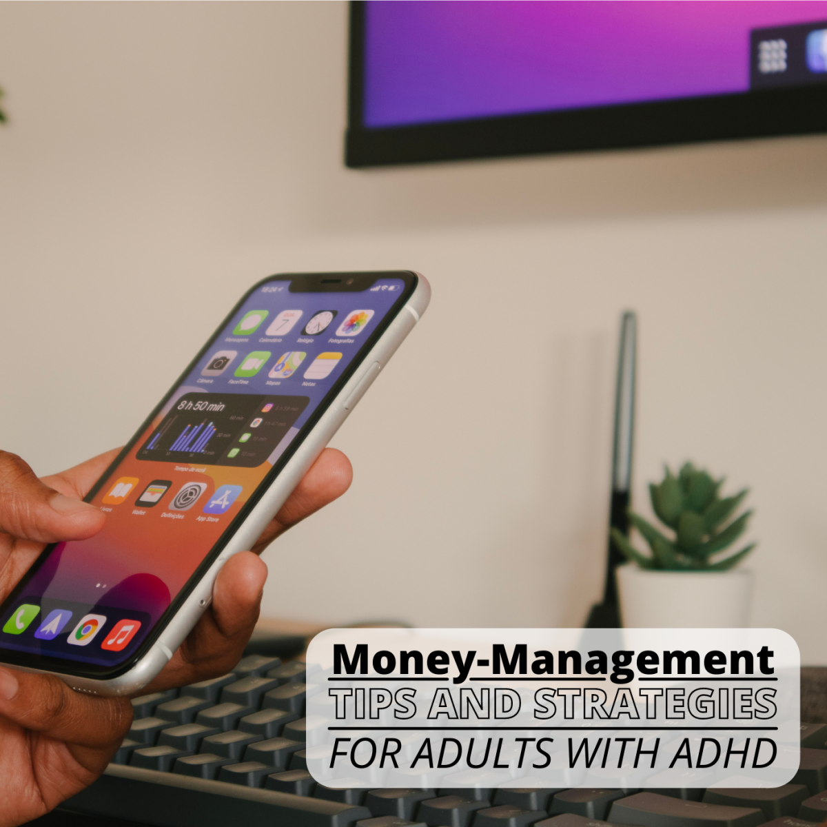 ADHD symptoms can make financial planning and money management difficult.