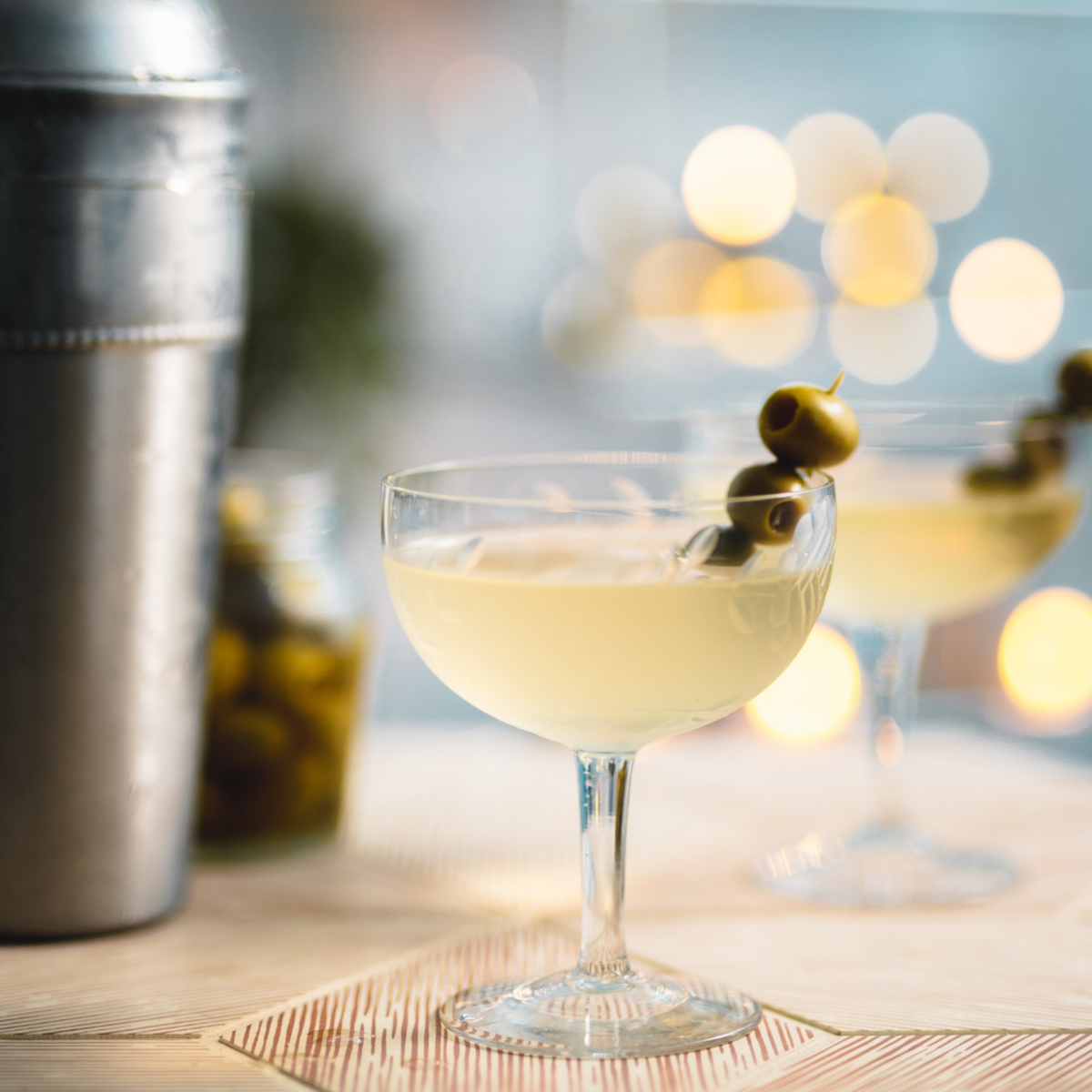 A martini made without the shaker just doesn't taste the same.