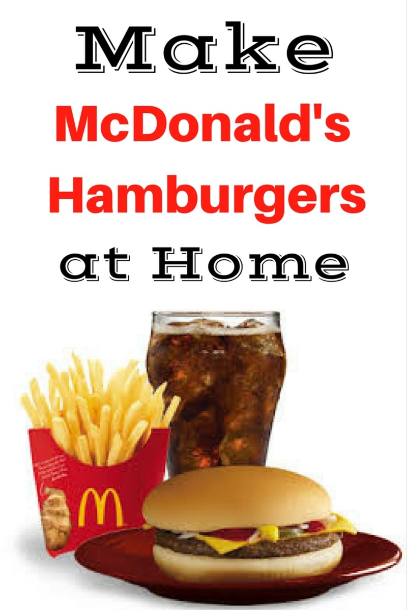 McDonald's Hamburger Recipe