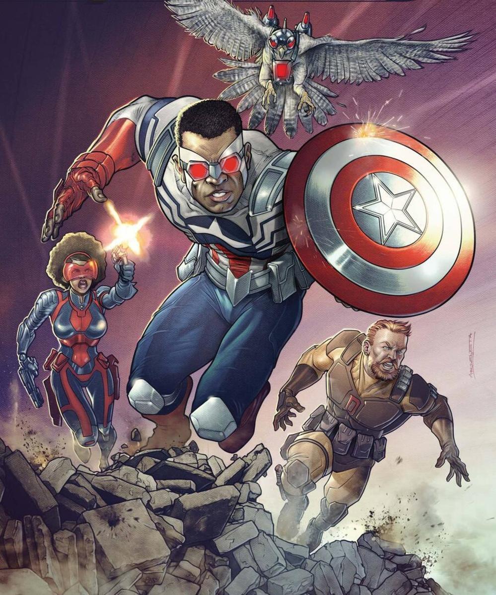 Sam Wilson, an overdue Captain America from the Falcon