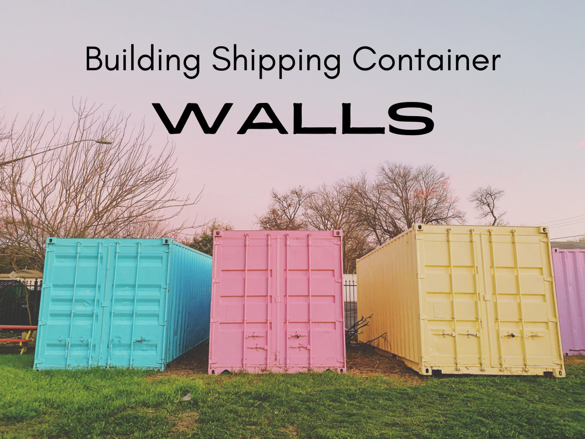 The interior walls of a shipping container need to be perfectly layered and insulated.