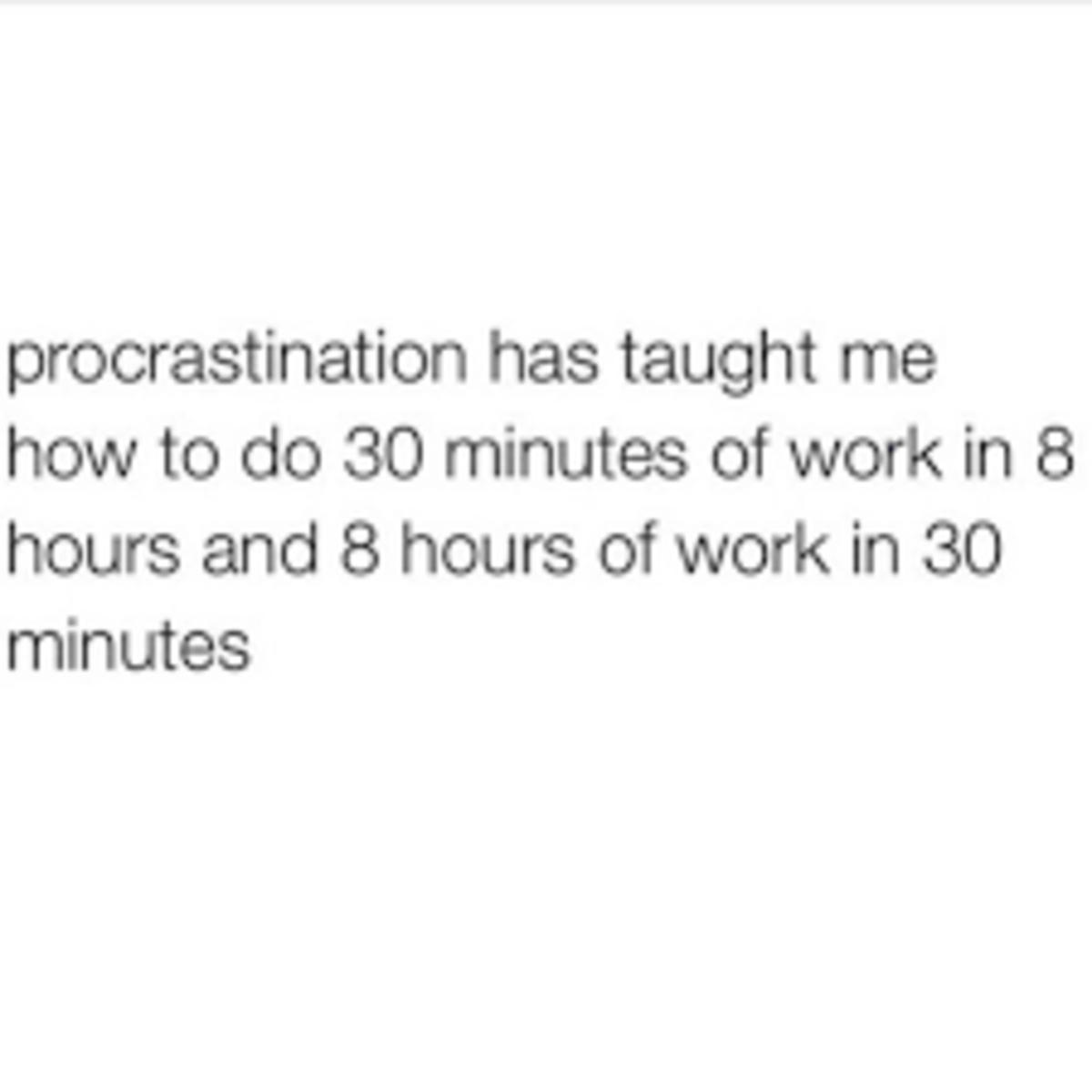 the-procrastination-in-everyday-life