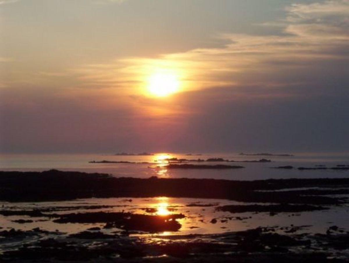 A Guernsey Sunset