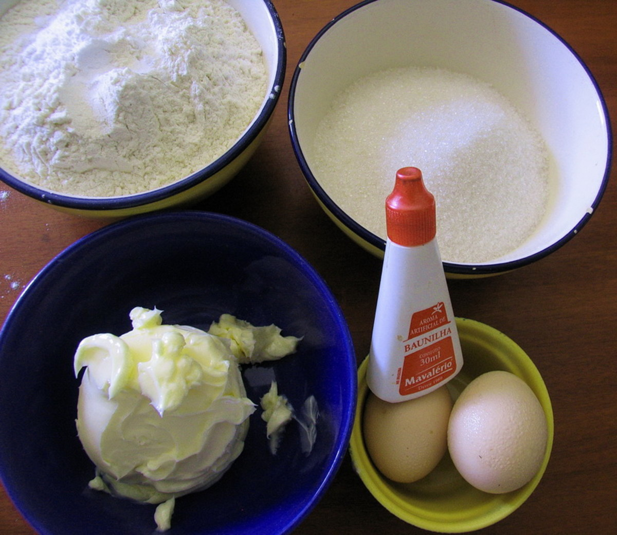 Ingredients for snickerdoodles