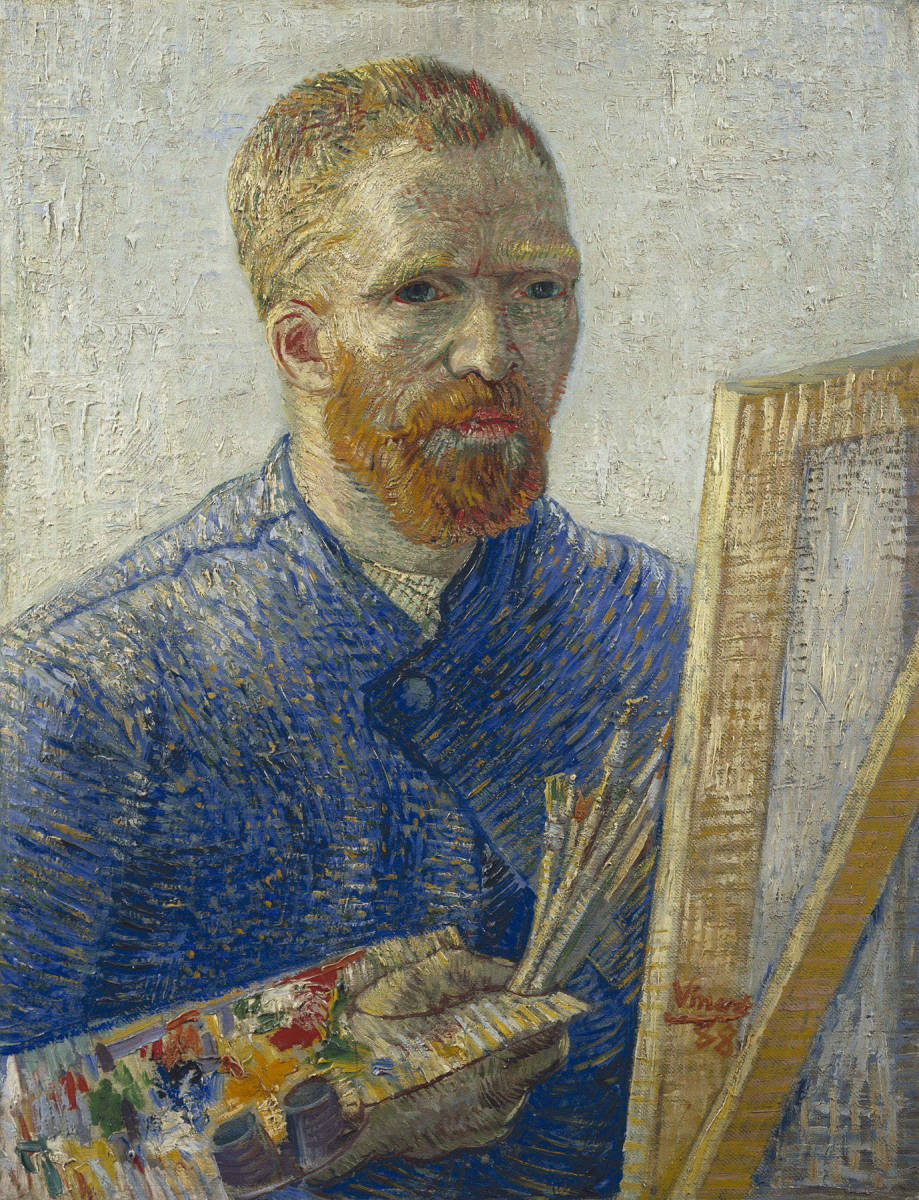 Van Gogh Self-Portrait as an Artist