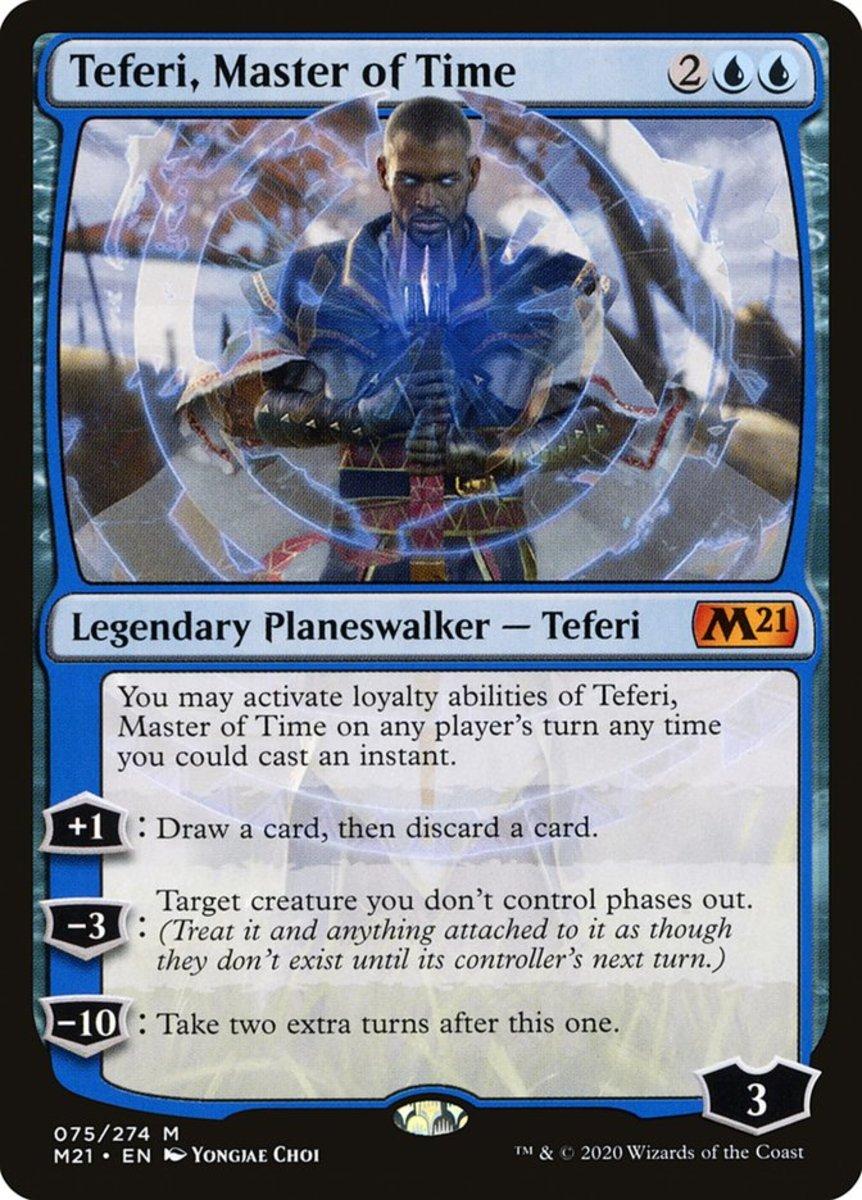 Teferi, Master of Time mtg