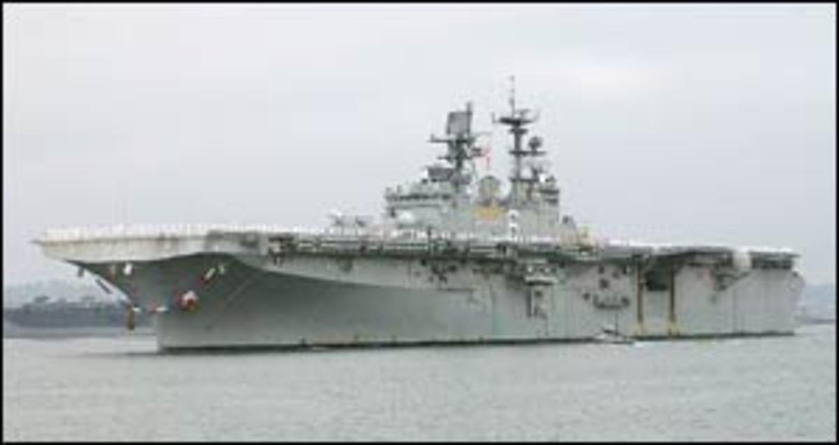 U.S.S. Bonhomme Richard (LHD-6) (Current Vessel)    An Amphibious Assault Ship