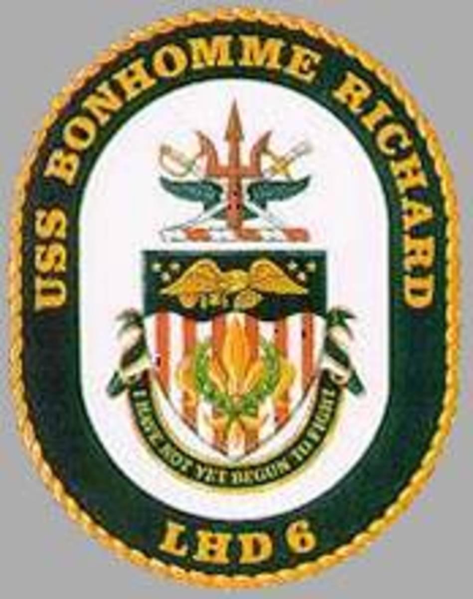 "Ship Logo for (LHD 6);(""Revolutionary Gator"")"