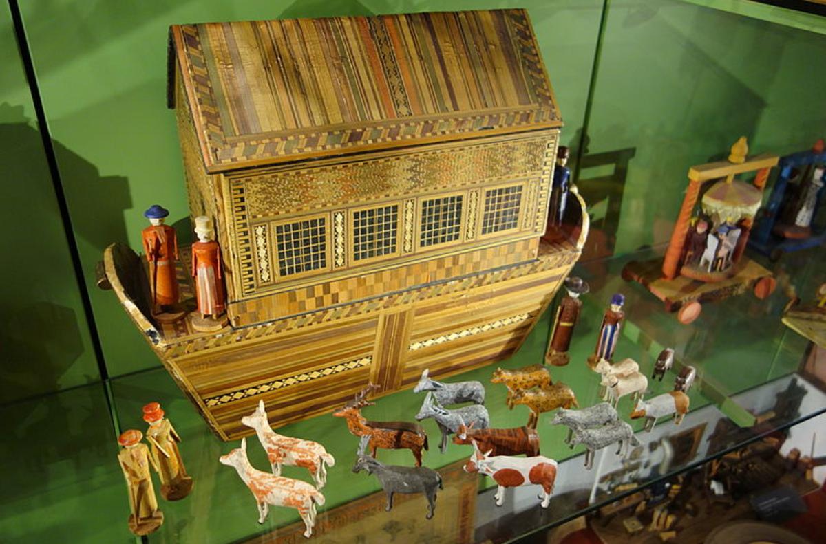 Exhibit in the Museum für Sächsische Volkskunst, Dresden, Germany