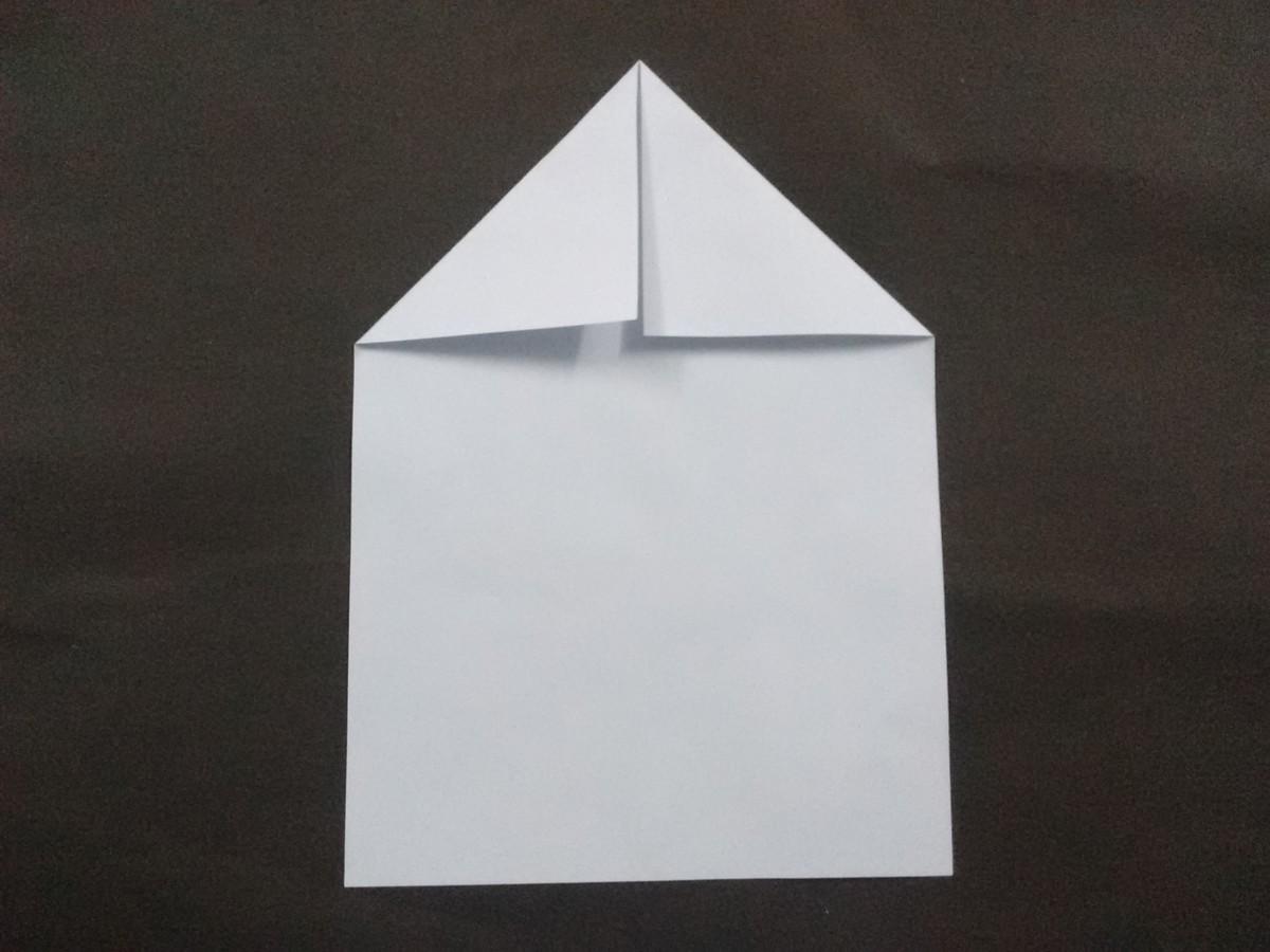This makes the head triangular.