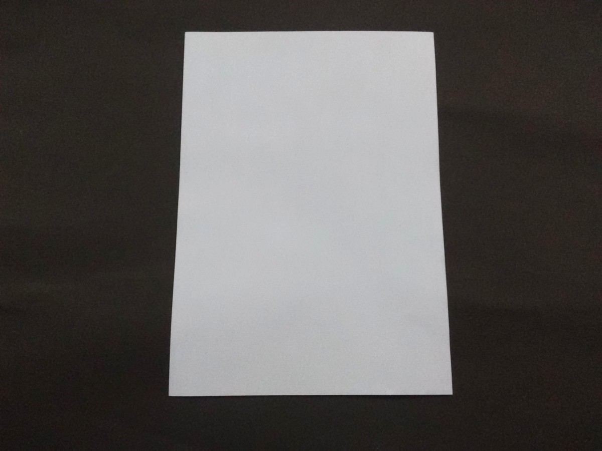 First take an A4 size paper.