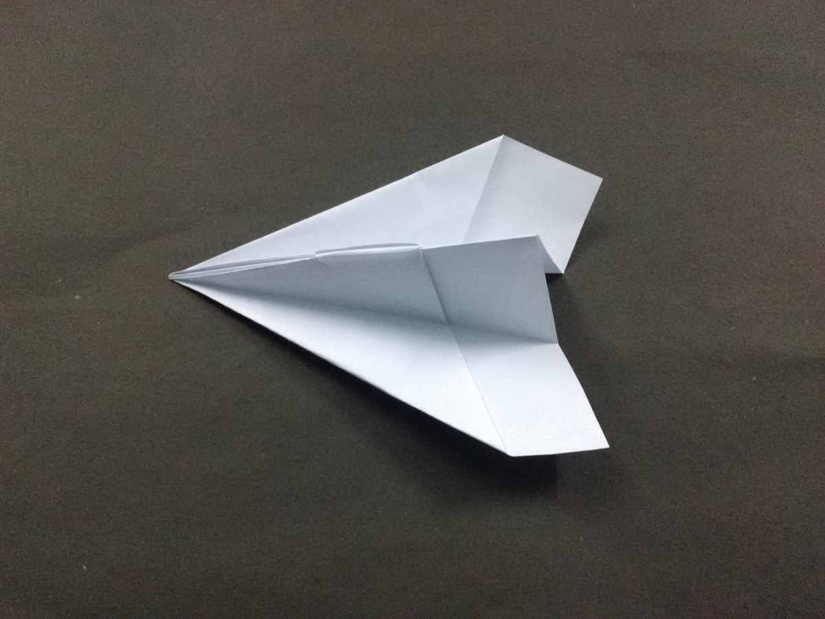 There you go. Your paper plane is ready.