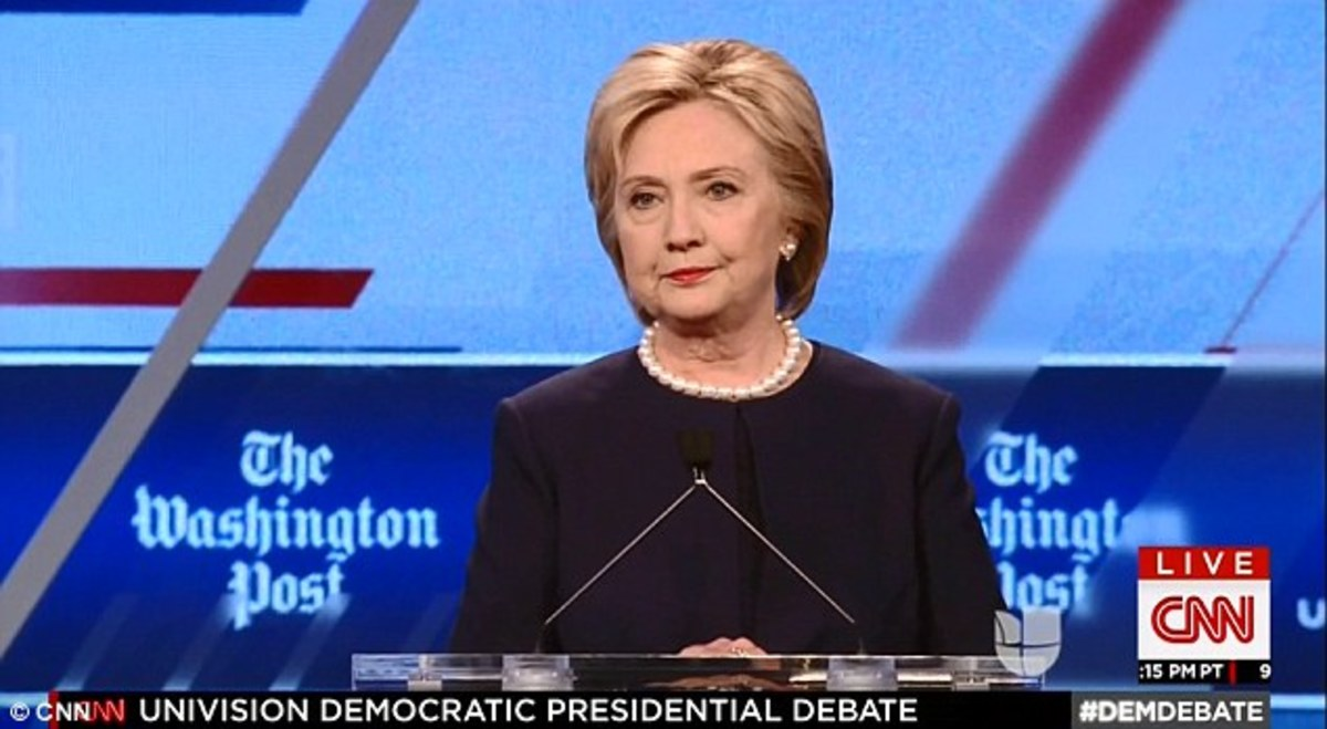 Her Majesty was displeased by Jorge Ramos' difficult questions at the Democratic debate.
