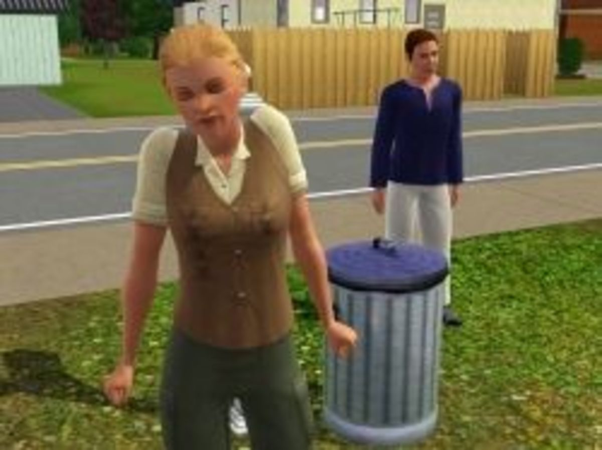 Justine and Geoff Pettit -- A Self-Sustaining Family in The Sims 3