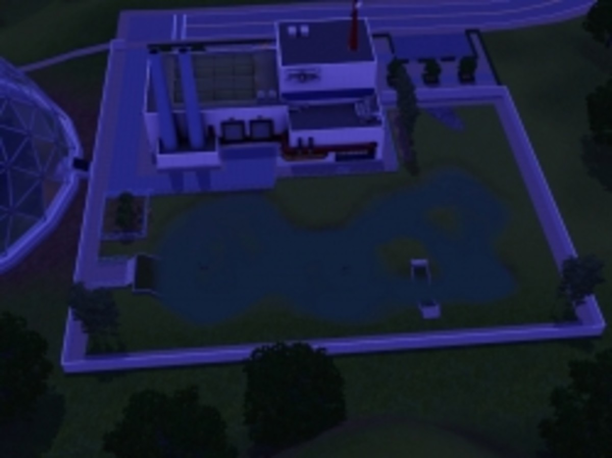 Landgraab Industries Science Facility -- Special Fishing Spot in The Sims 3