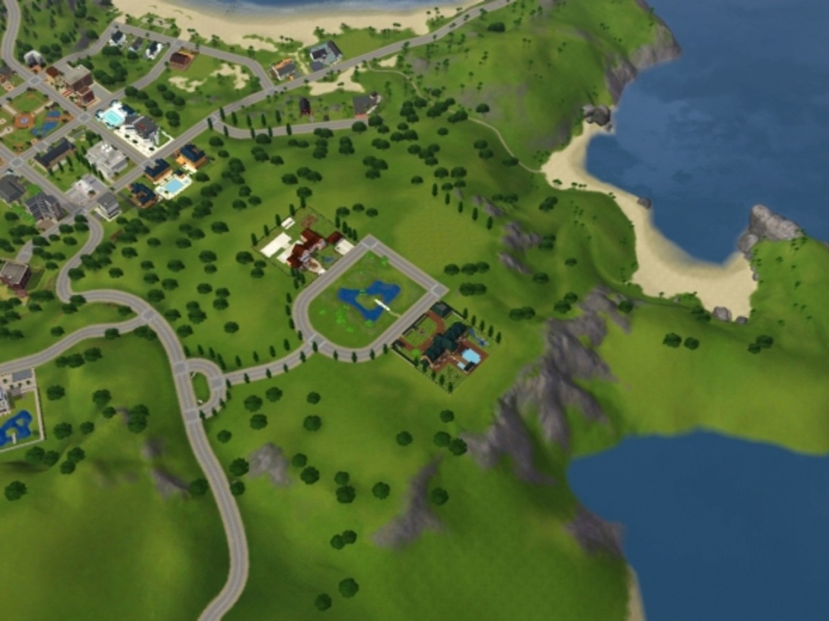 Best Fishing Locations in Sunset Valley in The Sims 3