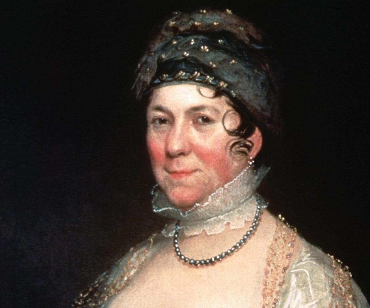 Bass Otis, Mrs. James Madison, ca. 1817. Oil on canvas. New-York Historical Society, Gift of Thomas Jefferson Bryan