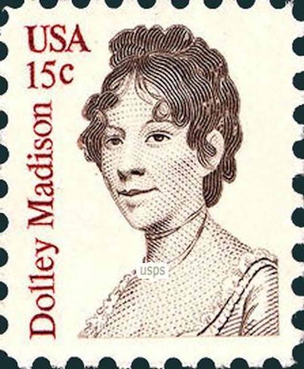 Dolley Madison - Commemorative Stamp